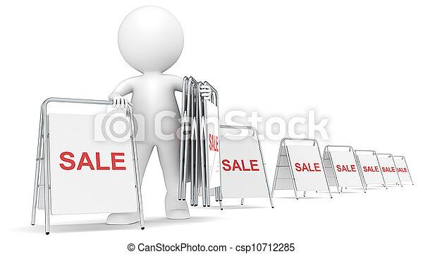 Sale. - csp10712285