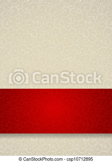 Abstract beauty Christmas and New Year seamless pattern background. Vector illustration - csp10712895