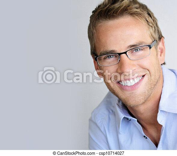 Eyeglasses man - csp10714027