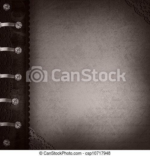 Vintage Photo Album  - csp10717948