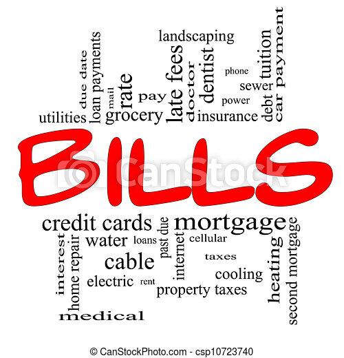monthly bill calendar