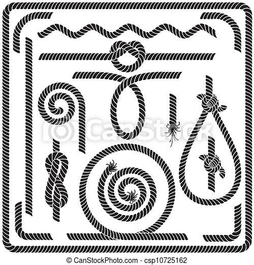 Rope Logo Vector Vector Vector Rope Design