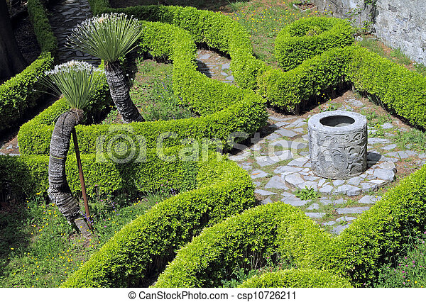 Photo d coratif jardin haies antiquit puits image for Puits decoratif jardin