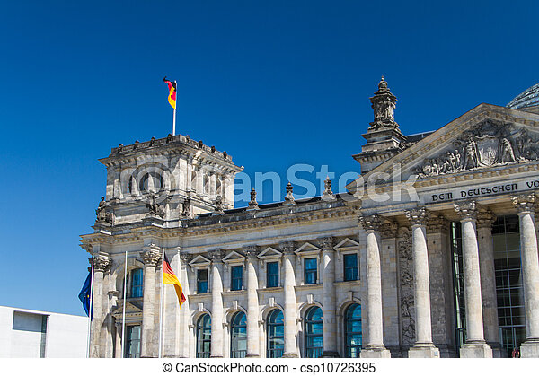 Berlin Government District - csp10726395