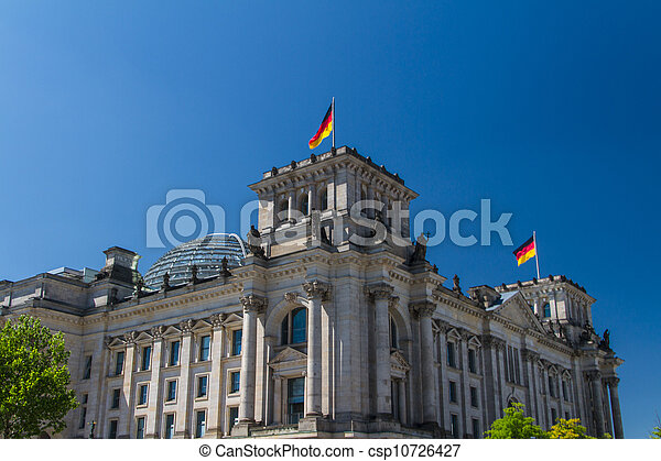 Berlin Government District - csp10726427