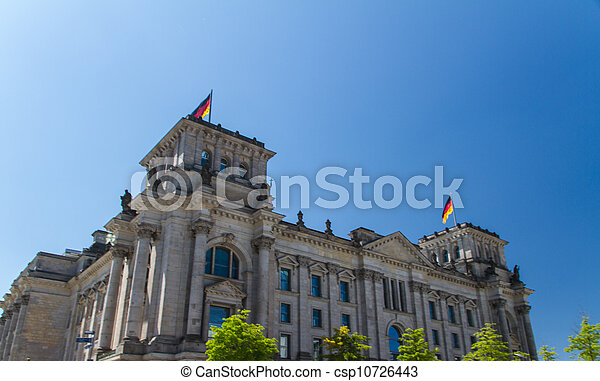 Berlin Government District - csp10726443