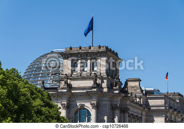 Berlin Government District - csp10726466