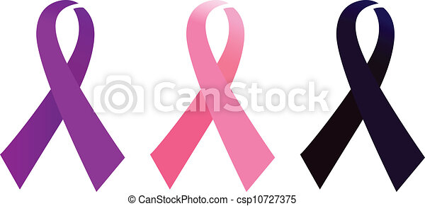 Vectors Illustration of AIDS Awarness ribbon set isolated on white ...