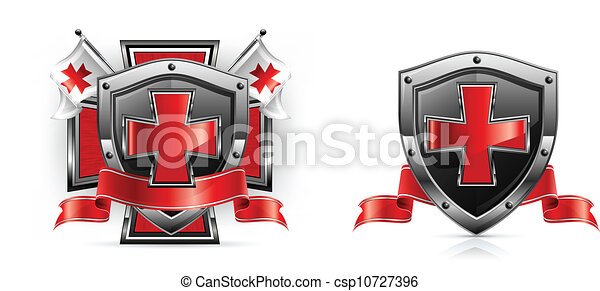 Templar Sword Drawings Templar Emblem Csp10727396