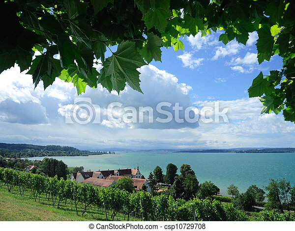 fantastic view over the Lake Constance near by Birnau - csp10729708