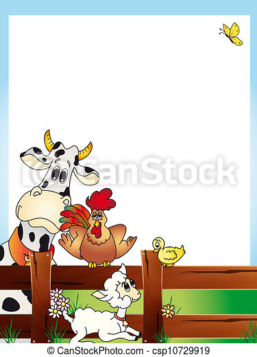 animals card - csp10729919