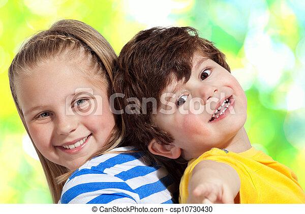hermano, y, hermana - csp10730430