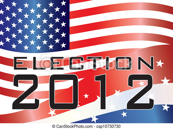 ELECTION 2012 Illustration - csp10730730