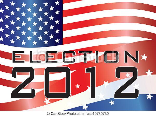 ELECTION 2012 Illustration - csp10730730