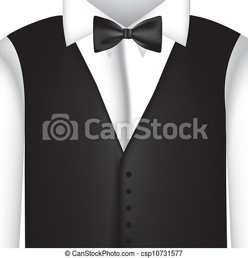 black suit - csp10731577