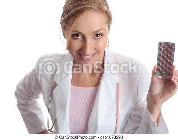 Doctor pharmaceutical medication - csp1073293