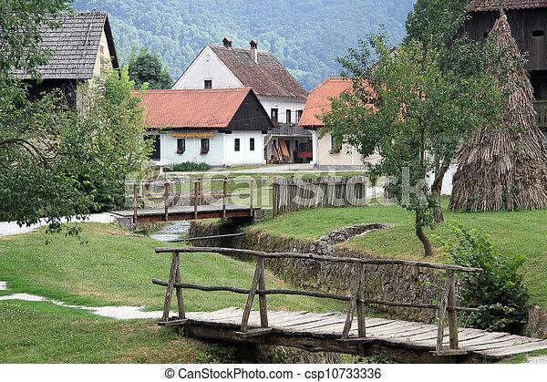 Wooden bridges - csp10733336