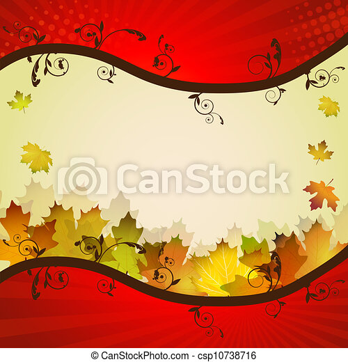Fall leafs  - csp10738716