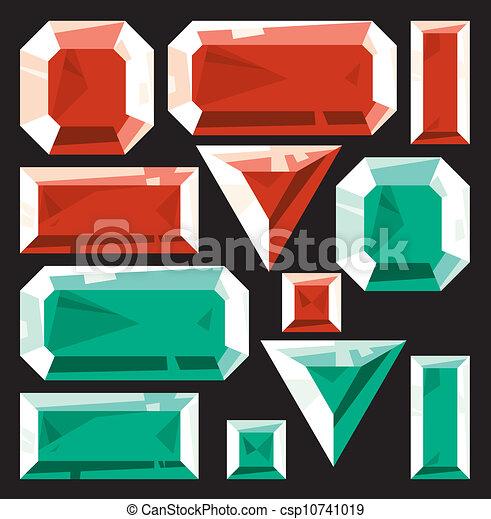 Emerald Vector Clip Art EPS Images. 3,712 Emerald clipart vector ...