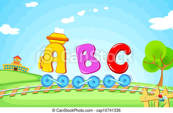 ABC train - csp10741336