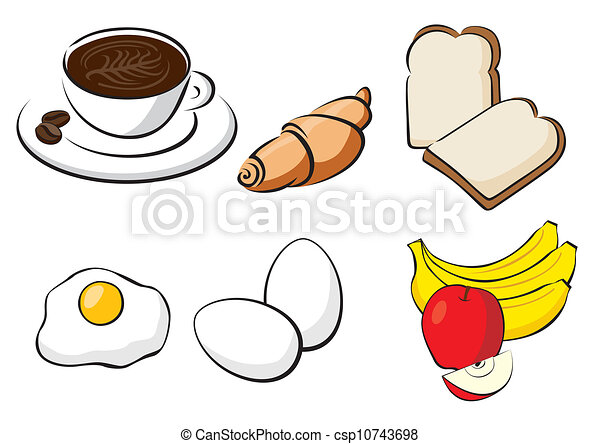 eps vectors of healthy breakfast fruit  coffee clip art coffee cup microwave clip art coffee cup microwave