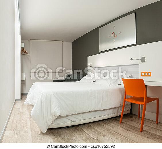 Stock Fotografien von schöne, Hotel, Zimmer, mit, modern, design ...
