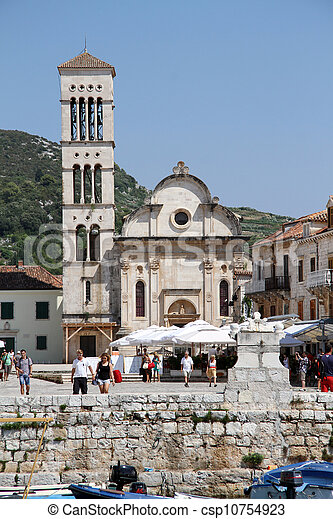Church in Hvar - csp10754923