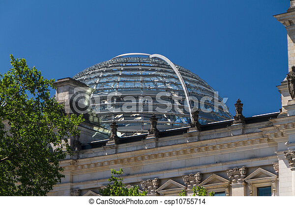 Berlin Government District - csp10755714