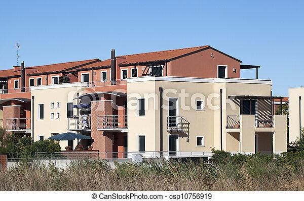 Residential Building - csp10756919