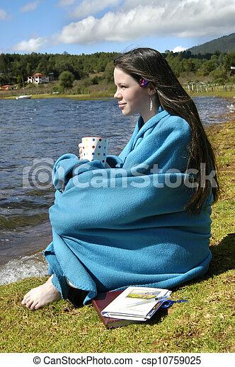 Archivi fotografici di coperta vestito adolescente for Piani di coperta autoportanti