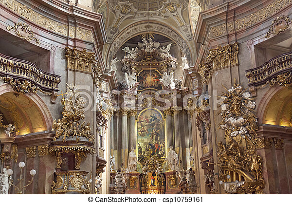 St. Peter's Church, Vienna - csp10759161