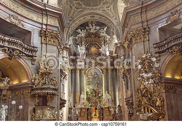 St. Peter's Church, Vienna - csp10759161