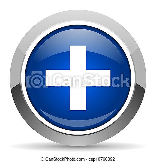 emergency icon - csp10760392