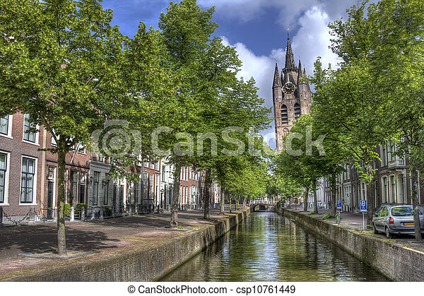 Old Church of Delft - csp10761449
