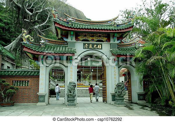 banque de photographies de chinois temple paysage caract ristiques gulangyu csp10762292. Black Bedroom Furniture Sets. Home Design Ideas