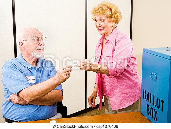 -, 地方, 選舉, 投票 - csp1076406