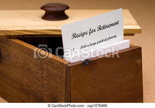 Recipe for retirement - csp1076469