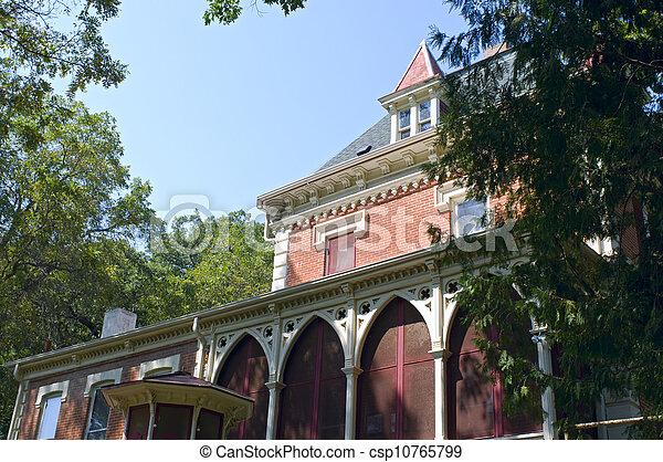 Historic Mansion in New Ulm  - csp10765799