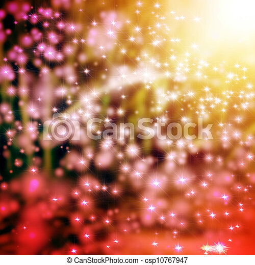 Elegant Christmas background with snowflakes and place for text. - csp10767947