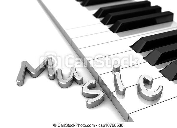 Music - csp10768538