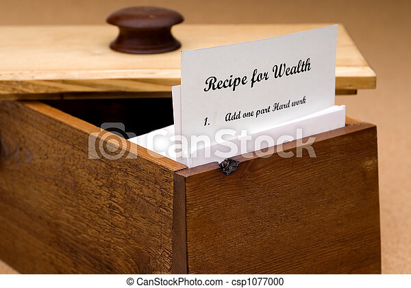 Recipe for Wealth - csp1077000