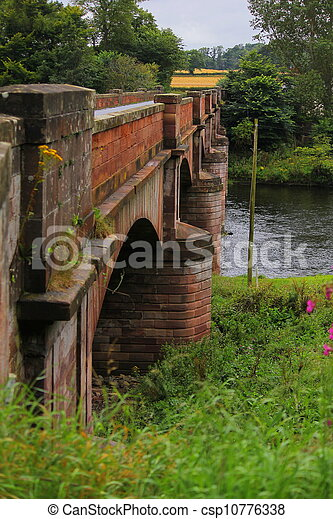 bridge over the river - csp10776338