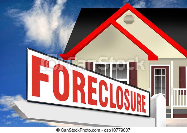 Foreclosure. - csp10779007