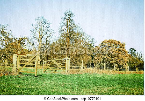 Rural scene - csp10779101