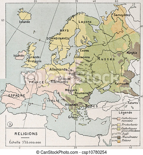 Europe religions - csp10780254