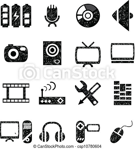 Audio and Video Clip Art – Clipart Download
