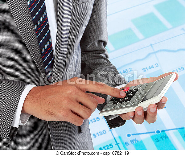 business accounting - csp10782119