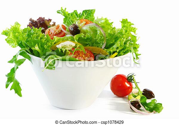 Tossed Salad - csp1078429