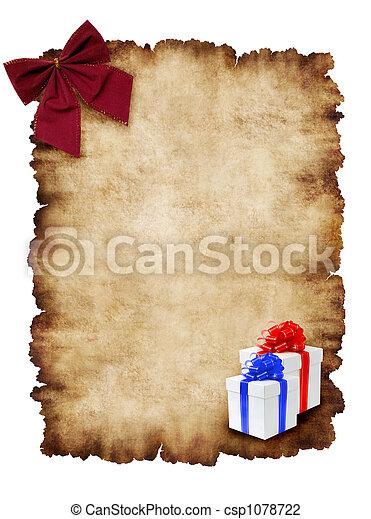 Holiday Greeting Card - csp1078722