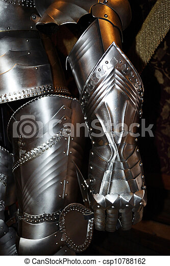 Detail of knight's armor - csp10788162
